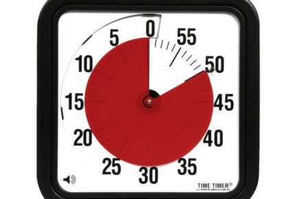 Time Timer Large (photo via www.timetimer.com)