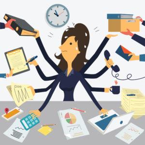 Multitasken is niet productief