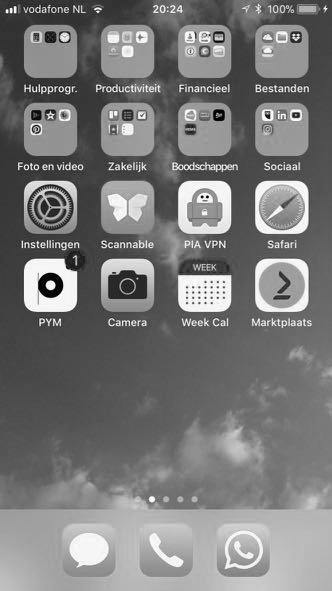 Grayscale Iphone
